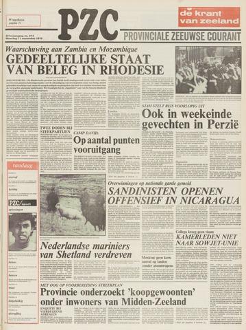 Provinciale Zeeuwse Courant 1978-09-11