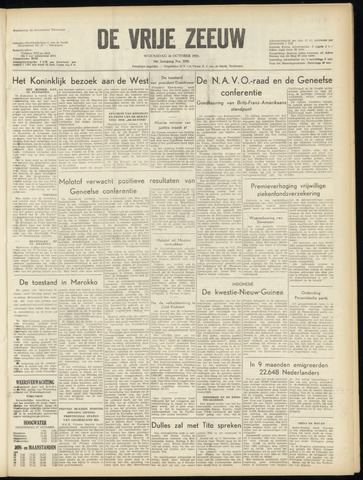de Vrije Zeeuw 1955-10-26