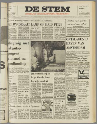 de Stem 1971-09-07