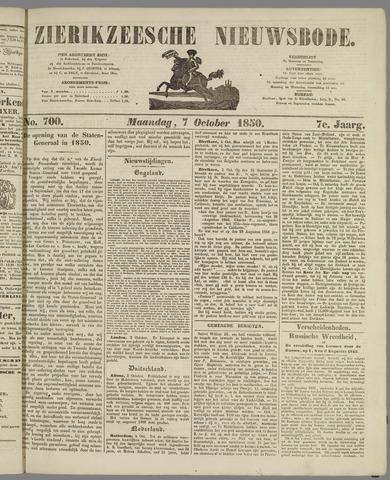 Zierikzeesche Nieuwsbode 1850-10-07