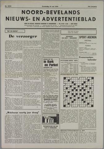 Noord-Bevelands Nieuws- en advertentieblad 1986-05-29