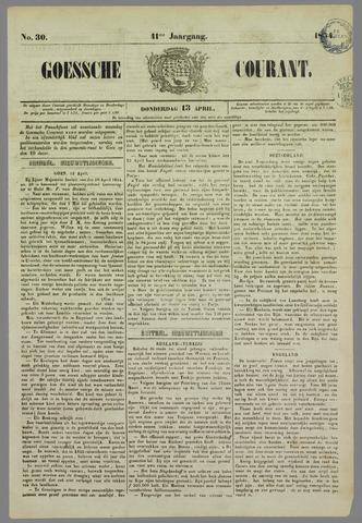 Goessche Courant 1854-04-13