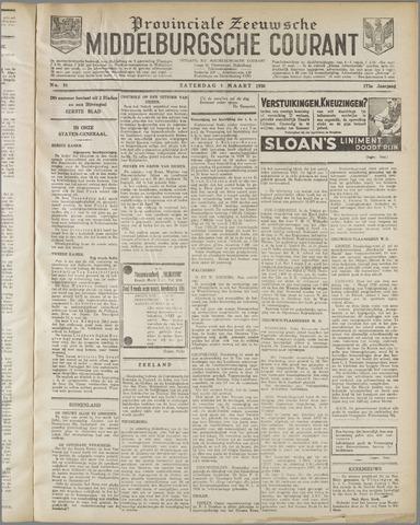 Middelburgsche Courant 1930-03-01