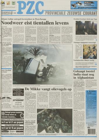 Provinciale Zeeuwse Courant 1999-12-27