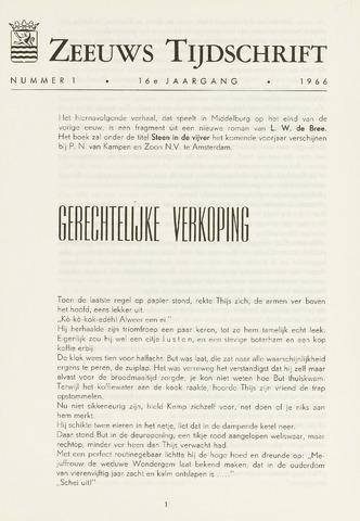 Zeeuws Tijdschrift 1966-01-01