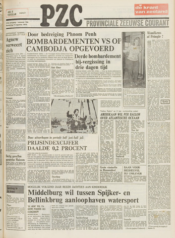 Provinciale Zeeuwse Courant 1973-08-09