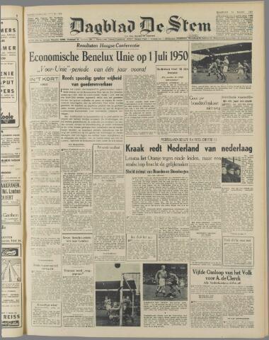de Stem 1949-03-14