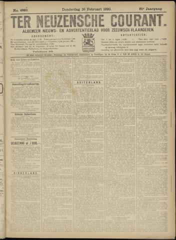 Ter Neuzensche Courant. Algemeen Nieuws- en Advertentieblad voor Zeeuwsch-Vlaanderen / Neuzensche Courant ... (idem) / (Algemeen) nieuws en advertentieblad voor Zeeuwsch-Vlaanderen 1920-02-26