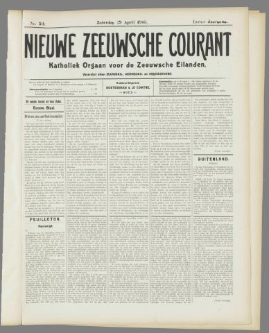 Nieuwe Zeeuwsche Courant 1905-05-29