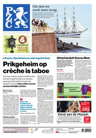 Provinciale Zeeuwse Courant 2016-11-25