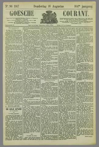 Goessche Courant 1917-08-16