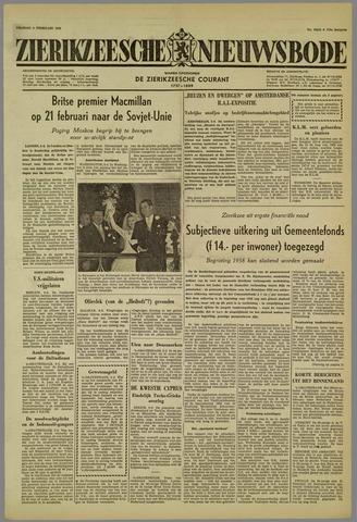 Zierikzeesche Nieuwsbode 1959-02-06