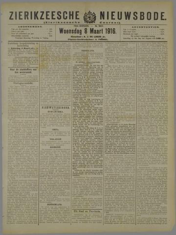 Zierikzeesche Nieuwsbode 1916-03-08