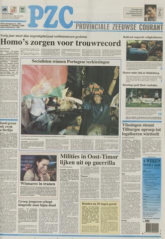 Provinciale Zeeuwse Courant 1999-10-11