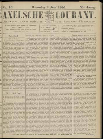 Axelsche Courant 1920-06-02