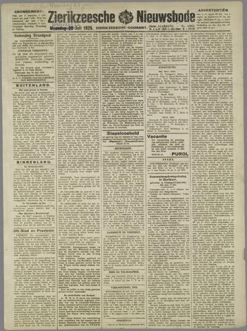 Zierikzeesche Nieuwsbode 1925-07-22