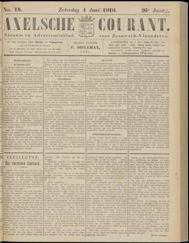Axelsche Courant 1910-06-04