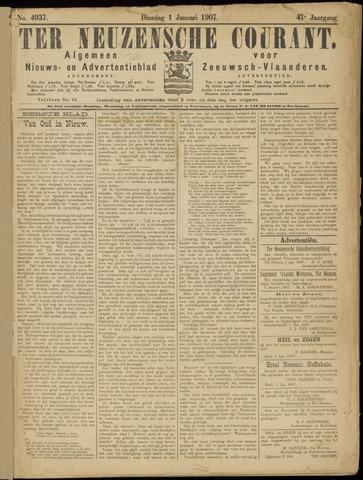 Ter Neuzensche Courant. Algemeen Nieuws- en Advertentieblad voor Zeeuwsch-Vlaanderen / Neuzensche Courant ... (idem) / (Algemeen) nieuws en advertentieblad voor Zeeuwsch-Vlaanderen 1907