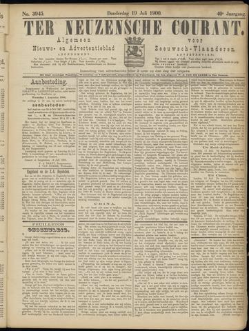 Ter Neuzensche Courant. Algemeen Nieuws- en Advertentieblad voor Zeeuwsch-Vlaanderen / Neuzensche Courant ... (idem) / (Algemeen) nieuws en advertentieblad voor Zeeuwsch-Vlaanderen 1900-07-19