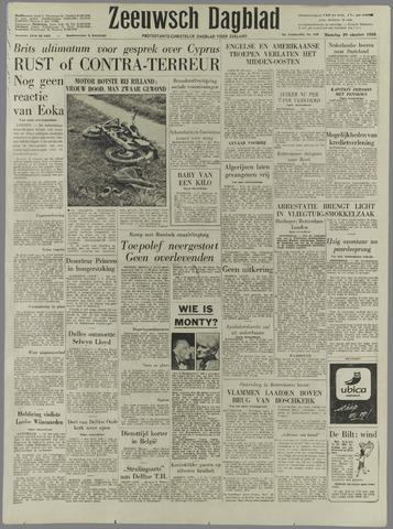 Zeeuwsch Dagblad 1958-10-20