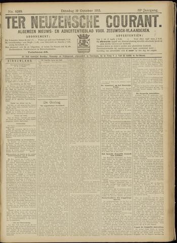 Ter Neuzensche Courant. Algemeen Nieuws- en Advertentieblad voor Zeeuwsch-Vlaanderen / Neuzensche Courant ... (idem) / (Algemeen) nieuws en advertentieblad voor Zeeuwsch-Vlaanderen 1915-10-19