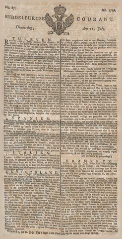 Middelburgsche Courant 1779-07-22
