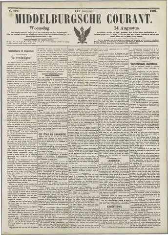 Middelburgsche Courant 1901-08-14
