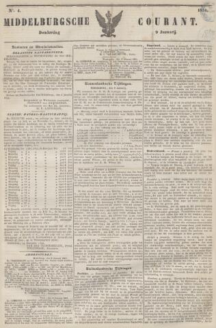 Middelburgsche Courant 1851-01-09