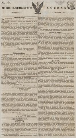 Middelburgsche Courant 1834-12-25