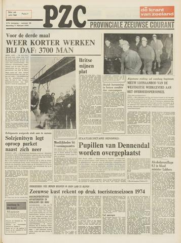 Provinciale Zeeuwse Courant 1974-02-11