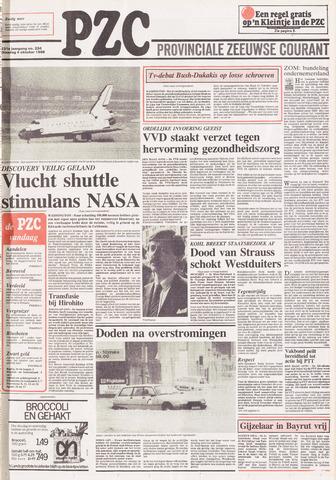 Provinciale Zeeuwse Courant 1988-10-04