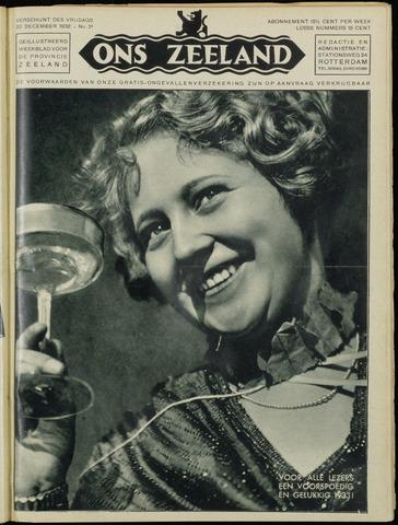 Ons Zeeland / Zeeuwsche editie 1932-12-30
