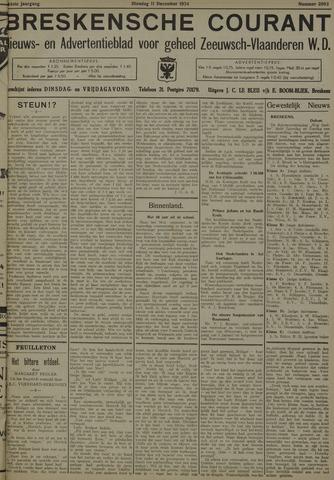 Breskensche Courant 1934-12-11