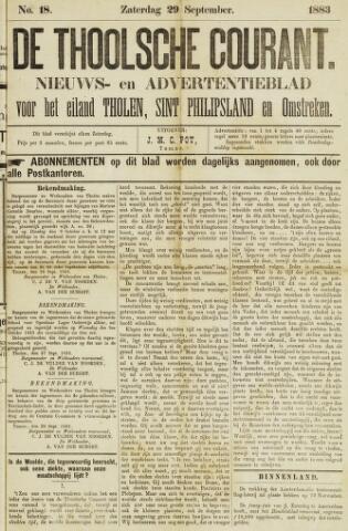 Ierseksche en Thoolsche Courant 1883-09-29