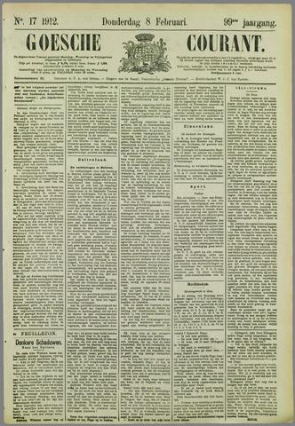 Goessche Courant 1912-02-08