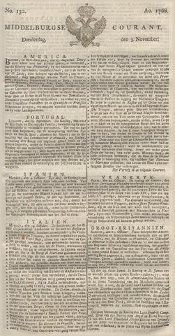 Middelburgsche Courant 1768-11-03