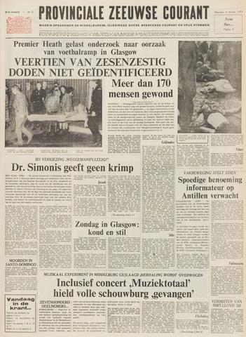 Provinciale Zeeuwse Courant 1971-01-04