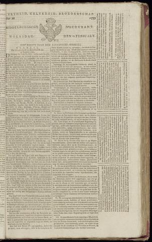 Middelburgsche Courant 1795-02-11