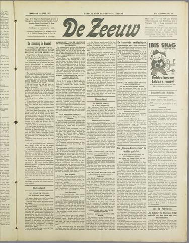 De Zeeuw. Christelijk-historisch nieuwsblad voor Zeeland 1937-04-12