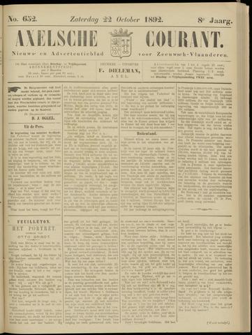 Axelsche Courant 1892-10-22