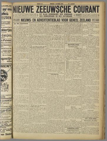 Nieuwe Zeeuwsche Courant 1923-10-09