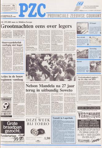 Provinciale Zeeuwse Courant 1990-02-14