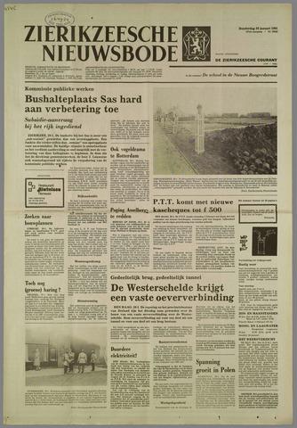 Zierikzeesche Nieuwsbode 1981-01-29