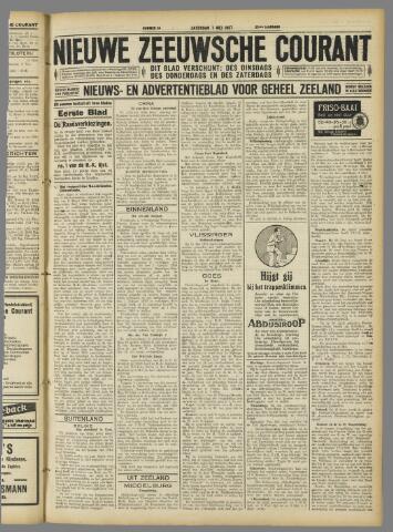Nieuwe Zeeuwsche Courant 1927-05-07