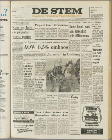 de Stem 1972-10-13
