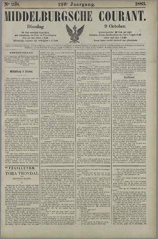 Middelburgsche Courant 1883-10-09