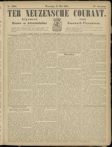 Ter Neuzensche Courant. Algemeen Nieuws- en Advertentieblad voor Zeeuwsch-Vlaanderen / Neuzensche Courant ... (idem) / (Algemeen) nieuws en advertentieblad voor Zeeuwsch-Vlaanderen 1887-05-18