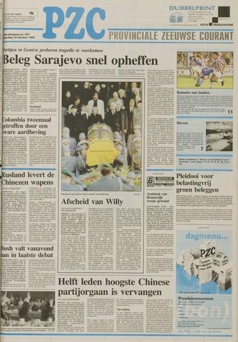 Provinciale Zeeuwse Courant 1992-10-19