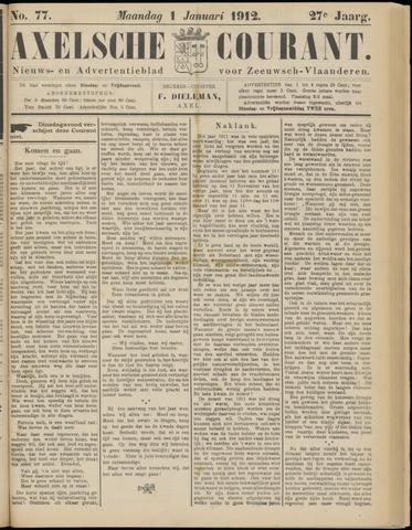 Axelsche Courant 1912