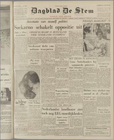 de Stem 1962-01-18